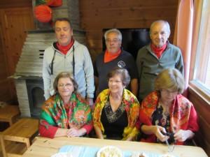 Portugalin toimeliaat vapaaehtoiset: Francisco Silva, Júlia Barria, Júlio Varela, Arminda Varela, António Vieira ja Maria José Vieira.