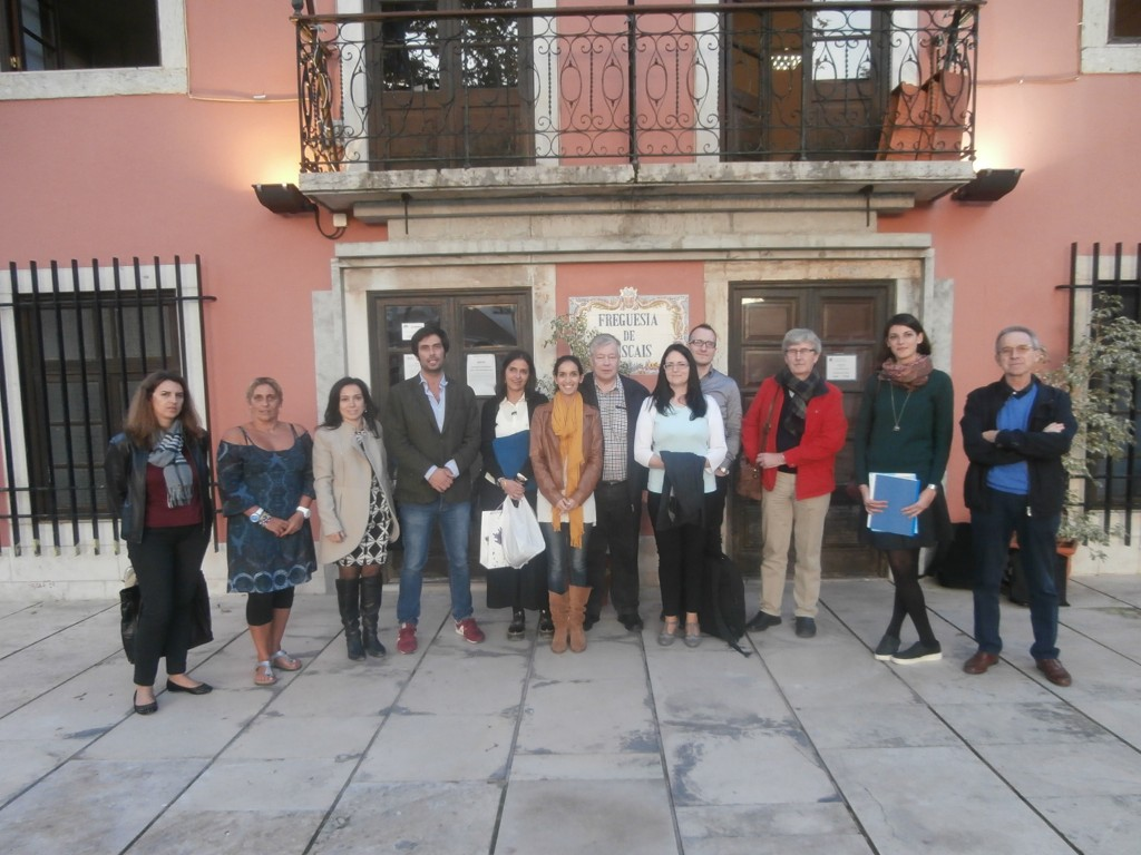 Plan Be -hankkeeseen osallistuvien järjestöjen edustajat tapasivat Cascaisissa Portugalissa.